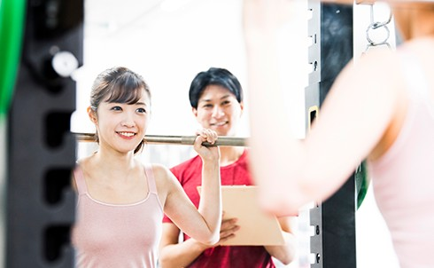 トレーニング+食事指導